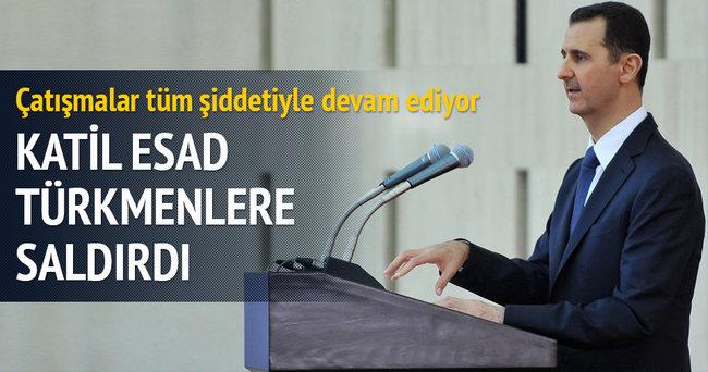 Esed rejimi Türkmen bölgesine kara harekatı yaptı