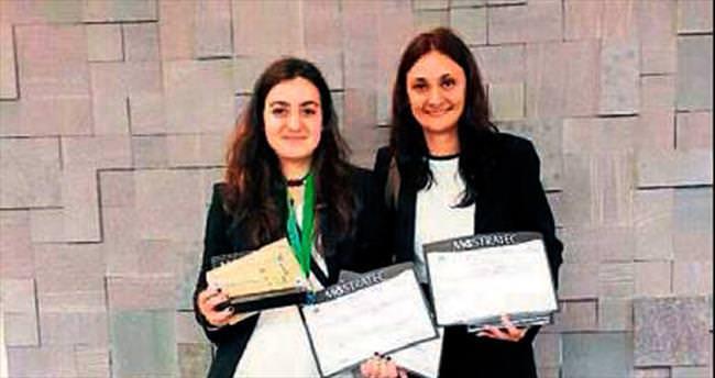 En iyi proje ödülü Serra Doğanata'ya