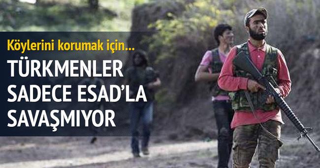 Türkmenler sadece Esad'la savaşmıyor