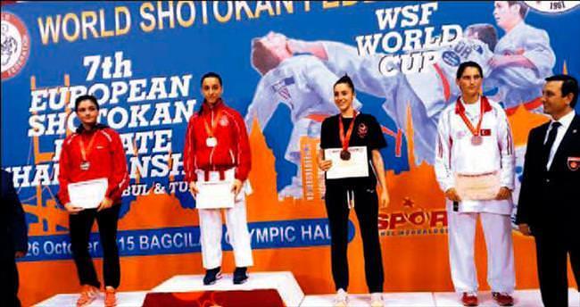 Karatede Türk kızları rüzgâr gibi