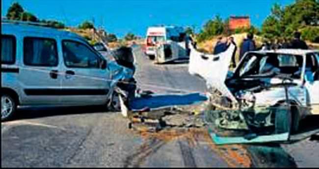 Zincirleme kazada bir kişi öldü