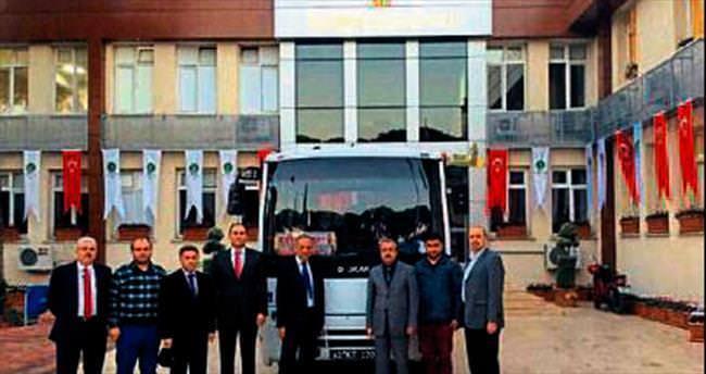 Ödemiş'e Kocaeli Belediyesi desteği