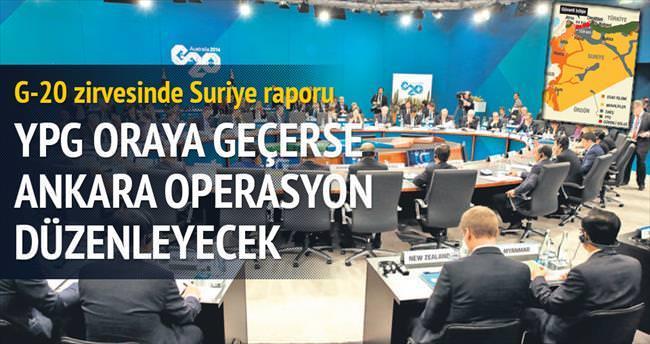 G-20 Zirvesi'ne Suriye Raporu