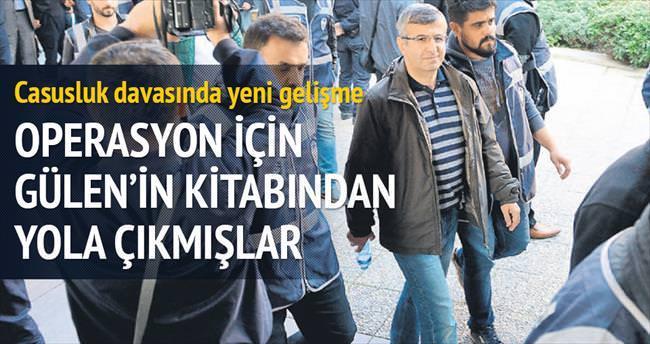 Operasyonun adı Gülen'in kitabından