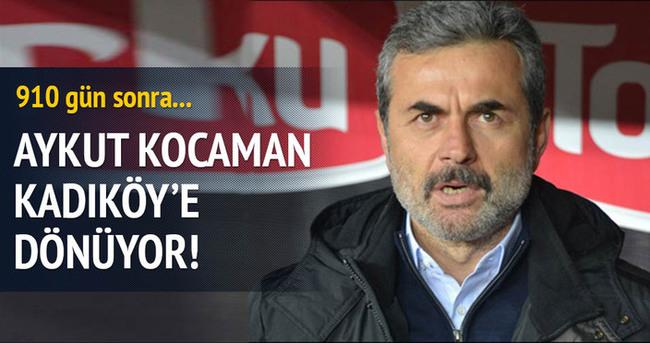 Aykut Kocaman, Kadıköy'e dönüyor