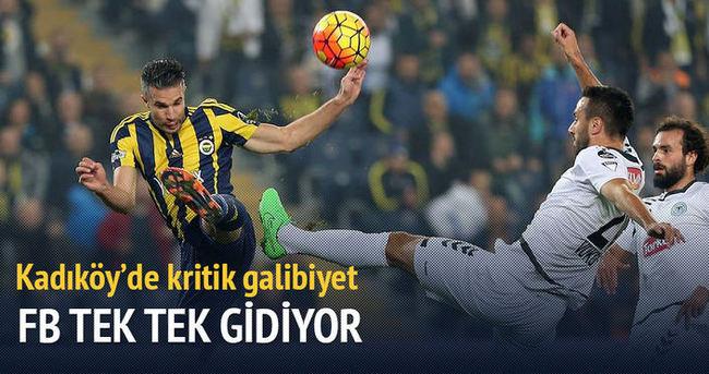 Fenerbahçe'den evinde kritik galibiyet