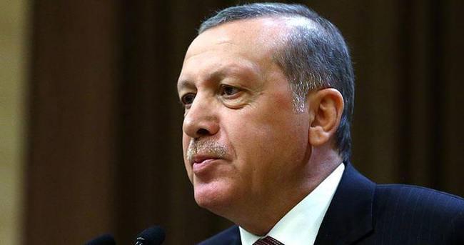 Cumhurbaşkanı Erdoğan şehit ailesine başsağlığı diledi