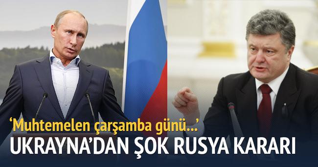 Ukrayna, Rusya'dan elektrik ithalatını durduruyor