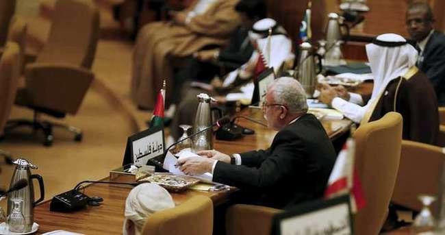 Suudi Arabistan'da Filistin toplantısı