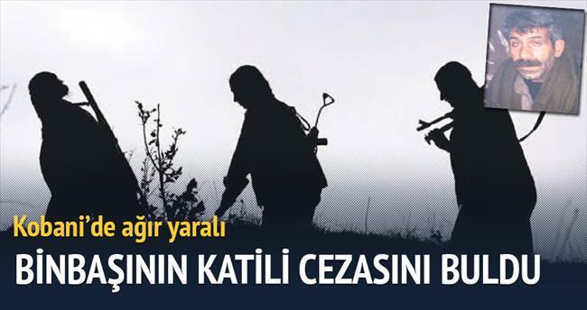 Şehit binbaşının katili Kobani'de ağır yaralı