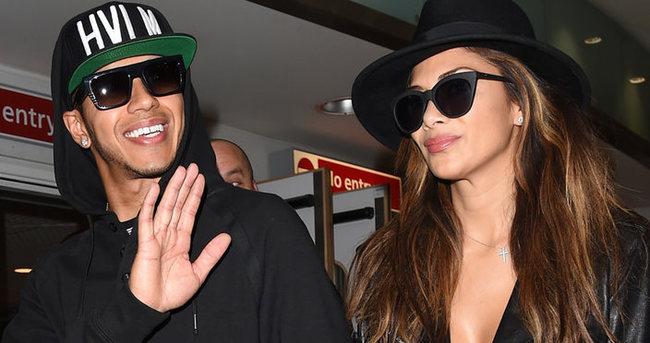 Lewis Hamilton ile Nicole Scherzinger ayrılığa dayanamadı