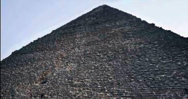 Keops Piramidi'nde termal anormallik!