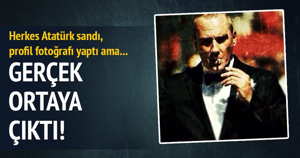 Herkesin Atatürk sandığı fotoğrafta gerçek ortaya çıktı