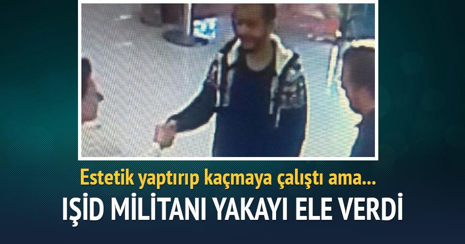 İzmir'de saç ektirip, estetik ameliyat hazırlığı yapan IŞİD militanı yakalandı