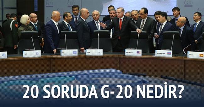 20 soruda G-20 nedir?
