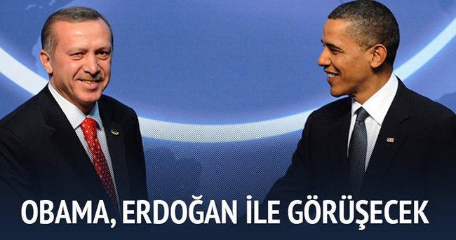 Erdoğan ve Obama bir araya gelecek