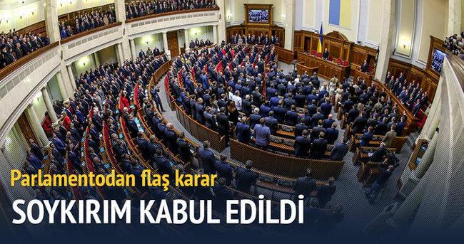 Ukrayna parlamentosu Kırım soykırımını kabul etti