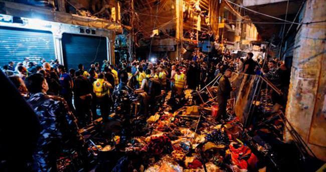 Beyrut'ta çifte intihar saldırısı 41 ölü  180 yaralı