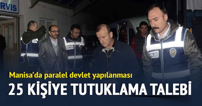 Gözaltında bulunan 26 kişiden 25'i, tutuklanmaları talebiyle mahkemeye sevk edildi