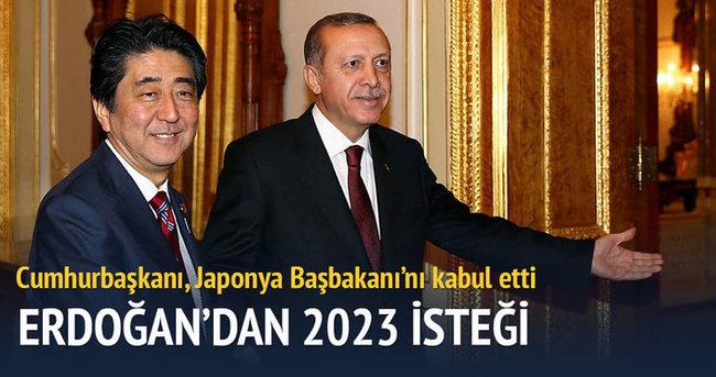 Erdoğan'dan 2023 isteği