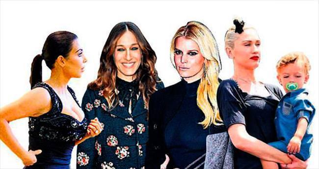 Moda starlarından stil hataları
