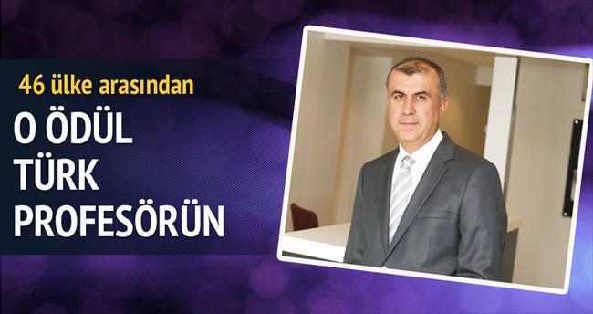 Yılın diyabet ödülü Türk profesörün