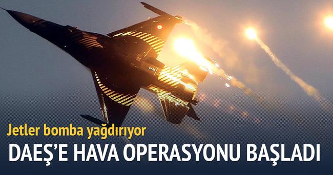 DAEŞ'e hava operasyonu başlatıldı