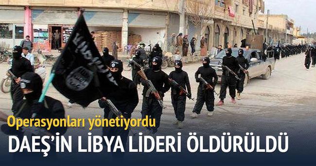DAEŞ'in Libya lideri öldürüldü
