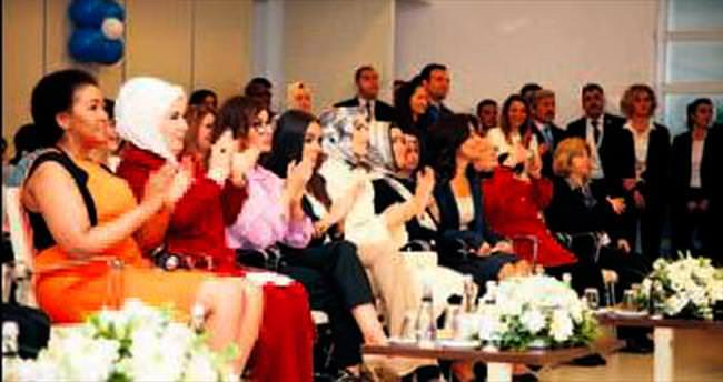 First ladyleri duygulandıran gösteri