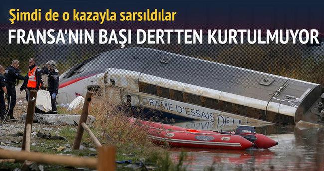 Fransa'da hızlı tren raydan çıktı: 7 ölü