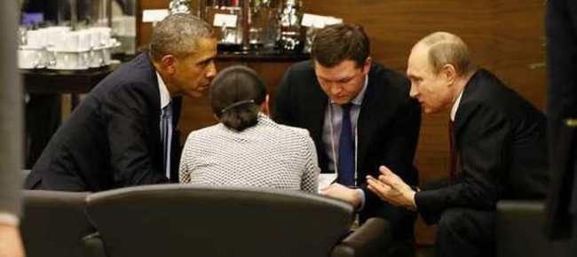 Obama-Putin görüşmesi gerçekleşti