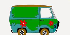 Scooby Doo Minibüs Boyama