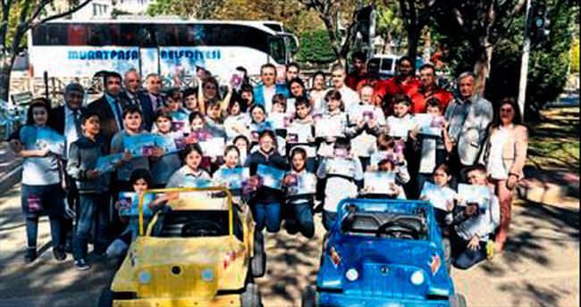Muratpaşa'da çocuklar güvende