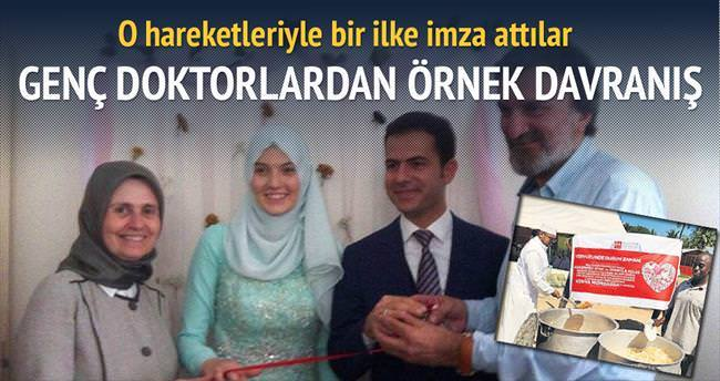 Düğün İstanbul'da yemeği Kenya'da