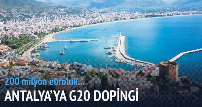 Antalya'ya G20 dopingi