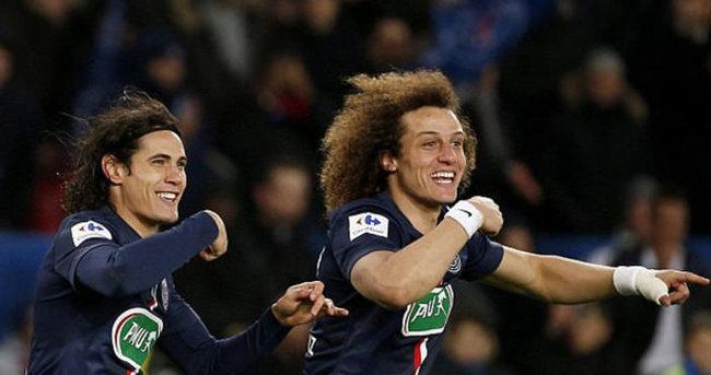 Cavani ve David Luiz Paris'e dönmek istemiyor