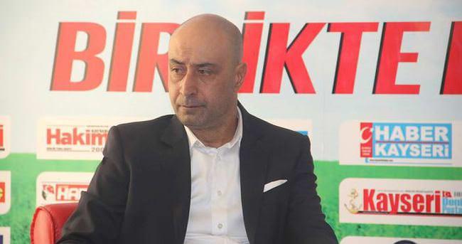 Kayserispor'un ilk yarı hedefi 18 puan
