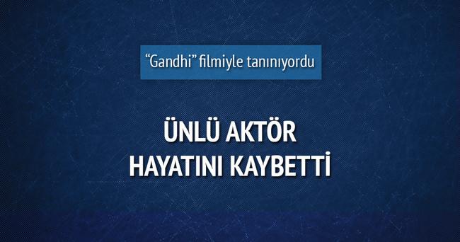 Hint aktör Jaffrey hayatını kaybetti