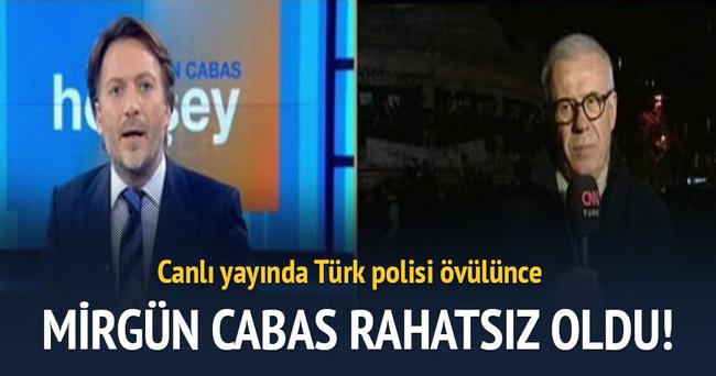 Mirgün Cabas'ı rahatsız eden Türk polisi yorumu