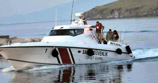 Ege'de sığınmacı botu battı