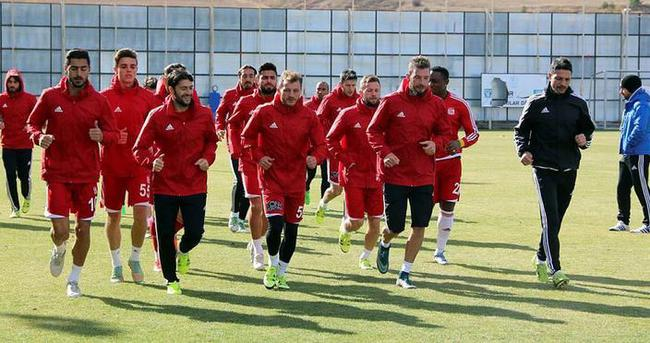 Medicana Sivasspor'da Beşiktaş maçı hazırlıkları