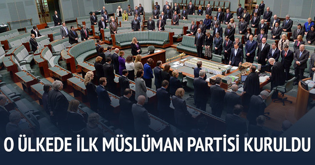 Avustralya'nın ilk Müslüman partisi!