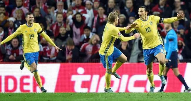 İbrahimovic coştu İsveç finallere uçtu