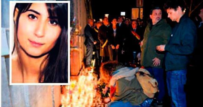 Terör kurbanı Elif Belçika'da anıldı