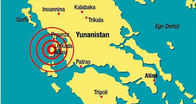 Yunanistan'da deprem: 2 ölü