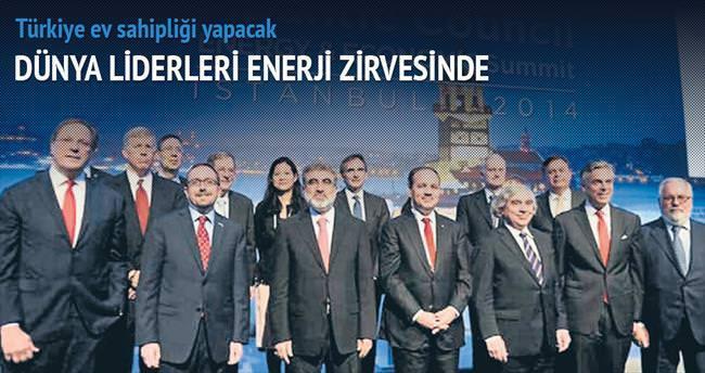Dünya liderleri enerji zirvesinde