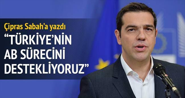 Türkiye'nin AB sürecini destekliyoruz