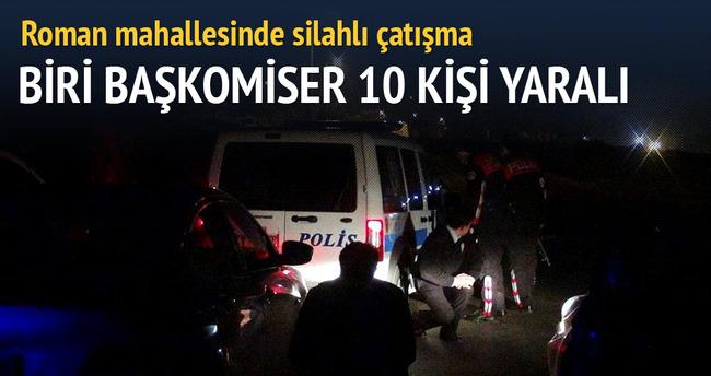 Tekirdağ'da silahlı kavga: 10 yaralı