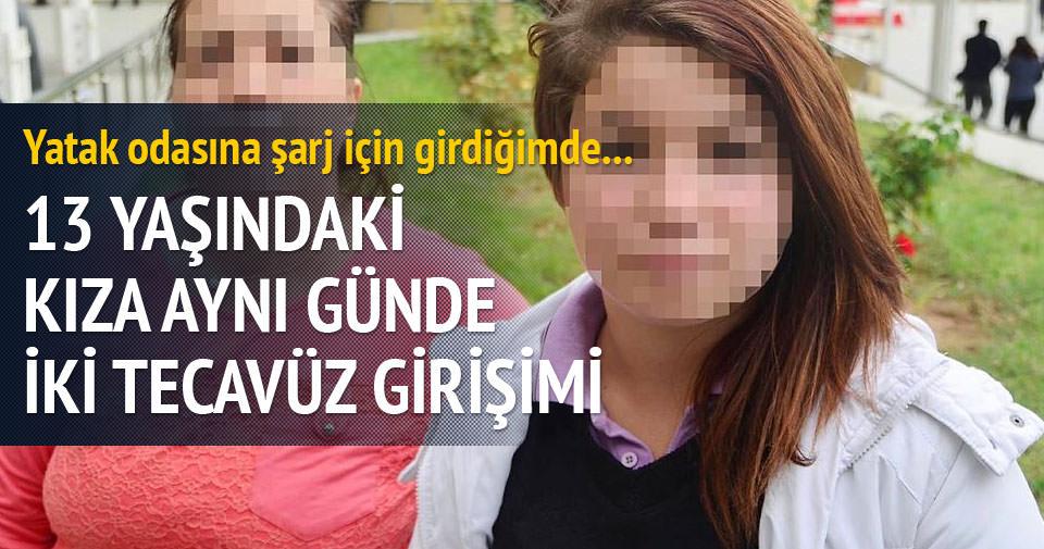 13 yaşındaki kıza tacizden 2 kişiye dava