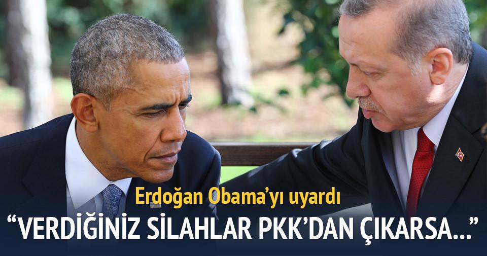 ABD'ye YPG uyarısı